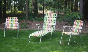 Patio Lawn Chairs Attractive Retro Patio Chairs With Retro Aluminum Woven Folding
