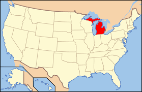Where Is Chicago On A Map by Wayne County Michigan Wikipedia