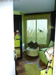 deco chambre vert deco chambre vert et marron