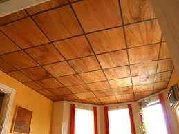 Luan Panels Covered With Decorative Vinyl Thin Plywood For Drop Ceiling Perfect For Our Basement Project