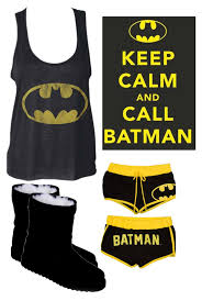 batman pajamas by gyrlz liked on polyvore featuring