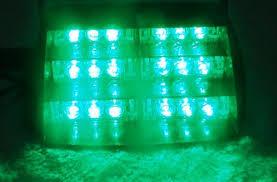 volunteer firefighter lights green strobe lights toronto canada