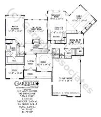 Covered Porch Plans Springdale House Plan Covered Porch Plans