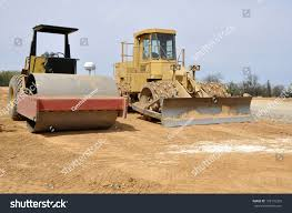 roller front end loader types construction stock photo 102176335