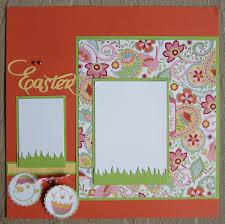 Monogrammed Scrapbook 161 Best Easter Scrapbook Layouts Images On Pinterest Easter