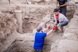 Blind Man At Bethsaida Archaeologists May Have Found Lost City Of Jesus U0027 Apostles New