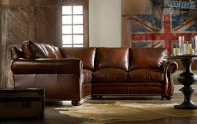 Traditional Leather Sofas Traditional Lawson Arm Leather Sectional Sofa U2013 Plushemisphere