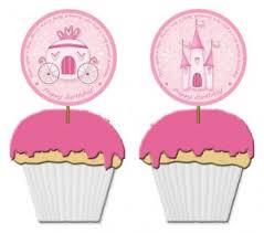free printable princess birthday cupcake toppers princess party