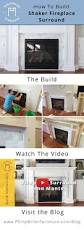 how to build a built in part 2 of 3 the fireplace mantel and