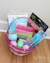 easter gift baskets for toddlers toddler approved dollar store easter basket ideas the