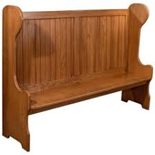 Church Pew Style Bench Church Pew Priests Bench Settle Solid Oak Antique Gothic Pugin
