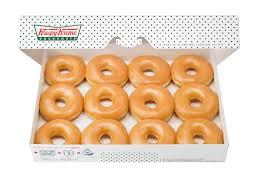 here s how to get a dozen free krispy kreme doughnuts on thursday