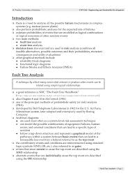 Teachers Assistant Resume Fault Tree Template The Causes And The Probabilities For The