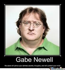 Gabe Newell Memes - gabe newell by potatomasterben meme center