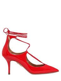 aquazzura beverly hills red sandals aquazzura escarpins en cuir