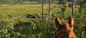 colorado summer resort vista verde ranch colorado luxury ranch