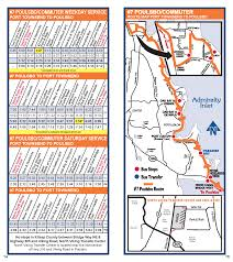 Us Route 20 Map by Jefferson Transit 7 Poulsbo Port Ludlow Tri Area Route Schedule