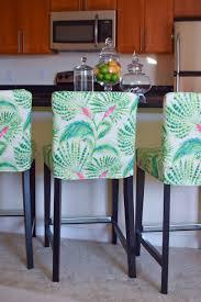 bar stools hillsdale tillman backless bar stool raw slipcovers