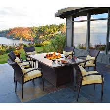 alderbrook faux wood fire table wood fire pit table fresh propane fire pit table set gas chat