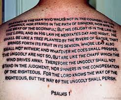 52 religious bible verses tattoos designs on back