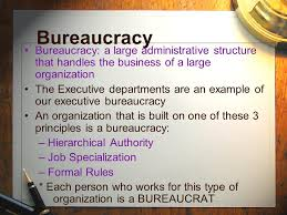 the federal bureaucracy ppt download