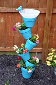 Vertical Flower Bed - 20 creative diy vertical gardens for your home planters garden