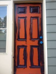 Painting Exterior Door Painted Front Doors Modern Home House Design Ideas