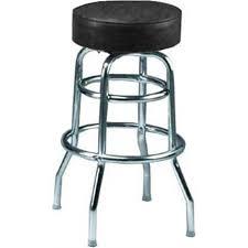Black Swivel Bar Stool Ring Swivel Bar Stool With Chrome Base And Black Vinyl Seat