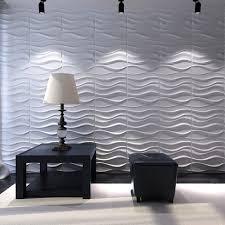 3d Wall Panels India Amazon Com Art3d Decorative 3d Wavy Wall Panel Design Pack Of 12