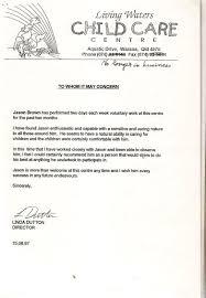 Sample Resume Australia by Resume Child Care Sample Resume