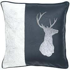 home interiors deer picture deer decorative pillow musicassette co
