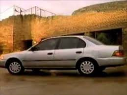 toyota corolla commercial toyota corolla commercial 1994