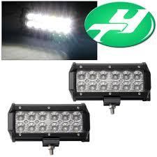 Led Light Bar Driving Lights by Yintatech Led Light Bar 2pack 6