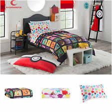 Pikachu Comforter Set Pokemon Bedding Ebay