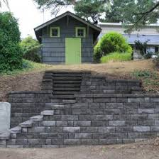 Retaining Wall Patio Custom Coastal Retaining Walls