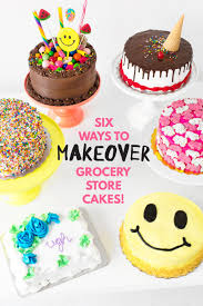 cake diy cakeover six grocery store cake hacks studio diy