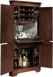 furniture liquor cabinet with lock wine racks at target