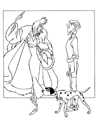coloring pages cruella deville coloring pages mycoloring free
