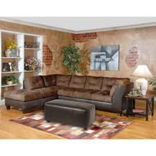 Chocolate Brown Sectional Sofa With Chaise Marinio Chocolate Brown Microfiber And Faux Leather Left Chaise