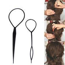 Mens Hairstyle Generator by Amazon Com Leegoal New 2pcs Tail Hair Braid Ponytail Maker