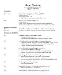 Improve Resume Fresher Doctor Resume 3 Free Word Pdf Documents Download