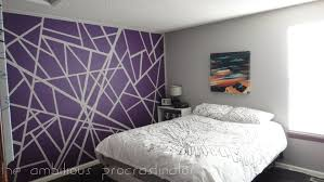 Cool Easy Wall Paint Designs Do You Have An Interesting Pattern - Paint design for bedrooms