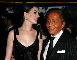 designer valentino comes early for designer valentino and hathaway