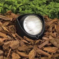 kichler light bulbs kichler 15488bk one light in ground landscape in ground lights