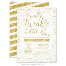 twinkle twinkle baby shower invitations twinkle baby shower invitations print creek studio inc