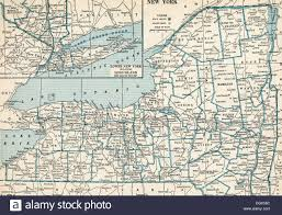 Free State Maps by Old Map Of New York State 1930 U0027s Stock Photo Royalty Free Image