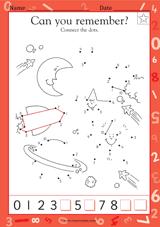 complete the sequence 1 20 kindergarten math practice