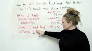 past simple and past perfect tenses in english youtube