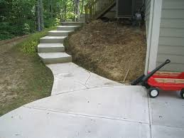 Brushed Concrete Patio Concrete Steps Construction Rod U0027s Quality Concrete Indianapolis