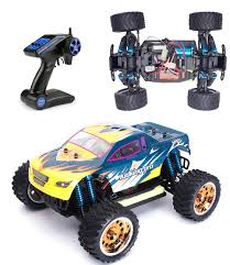 remote control grave digger monster truck hsp remote control car 1 16 scale brushless rc car electric power